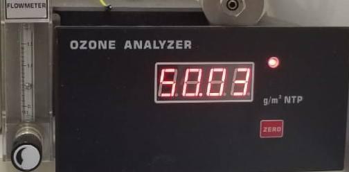 analizador de ozono