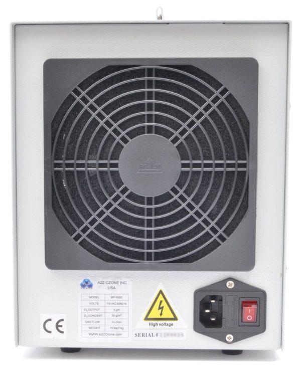 generador de ozono ventilador