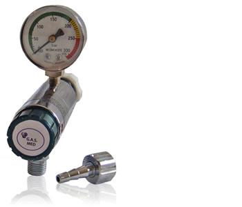 Valvula dosificadora para oxigeno medicinal