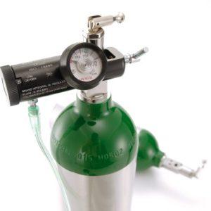 Tubo de Aluminio Oxigeno Medicinal