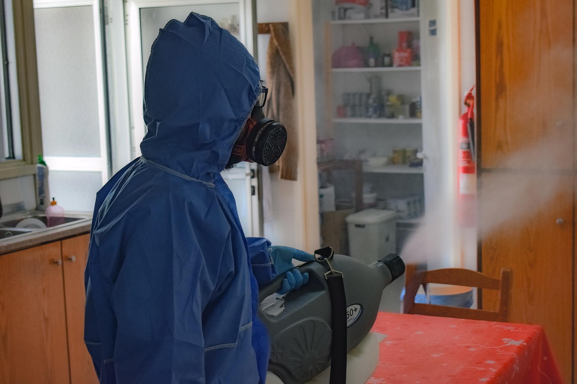 Ozono en la desinfección